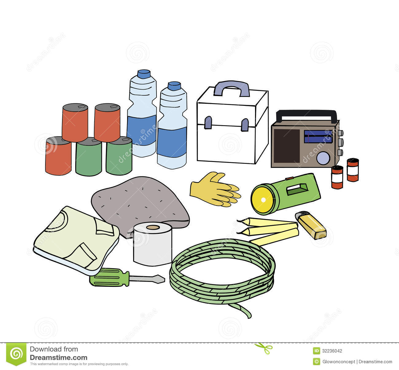 Displaying 19  Images For   Survival Kit Clipart