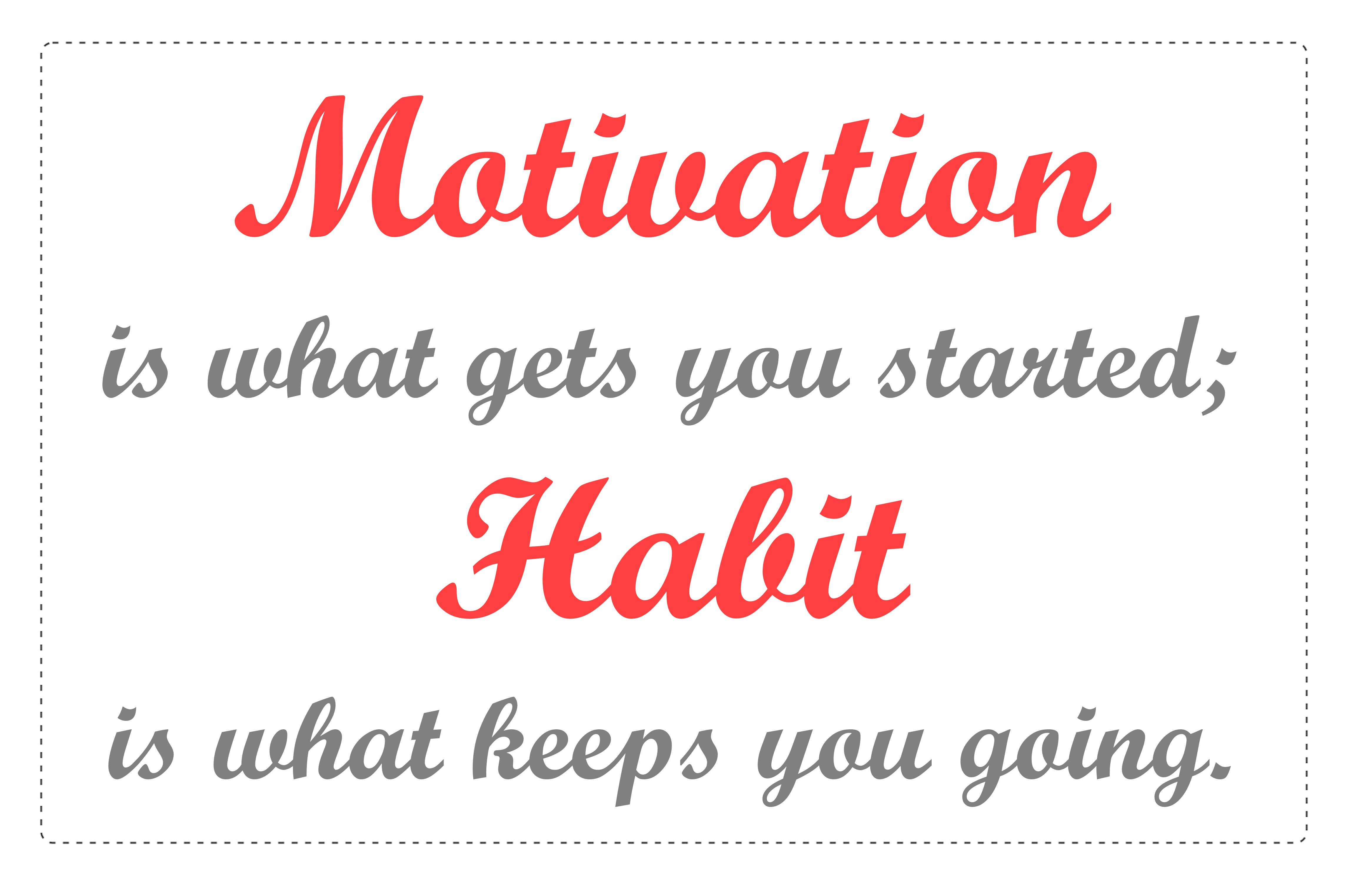 Dm Motivation Vs Habit Png