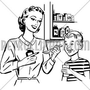Doctor Giving Medicine Clip Art