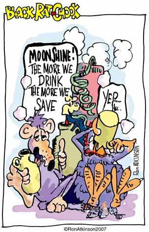 Moonshine Cartoon Cartoons Comic Strip
