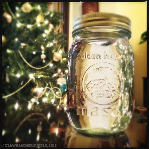 Moonshine Jar Holiday Cheer   Moonshine At