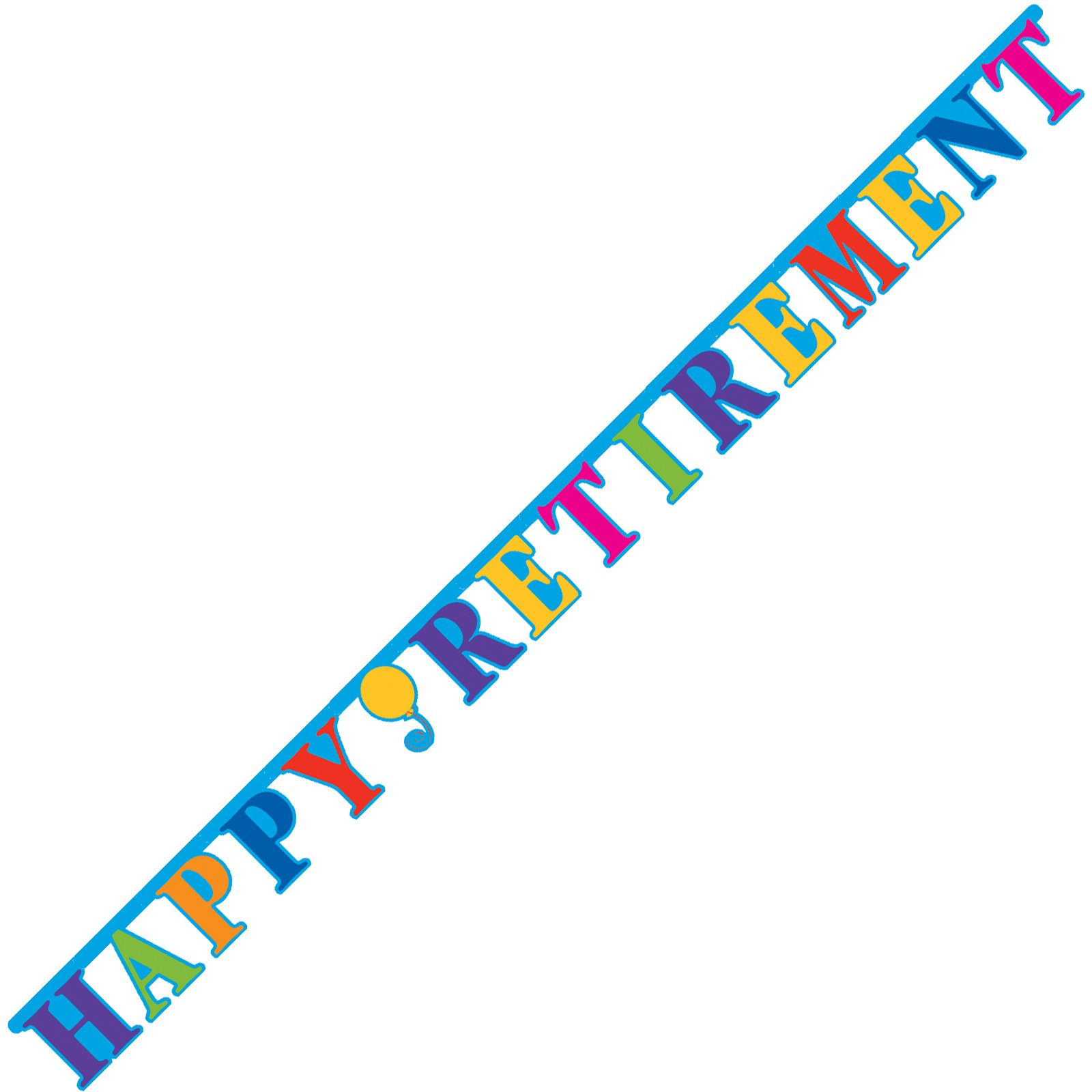 Retirement Party Borders Clipart