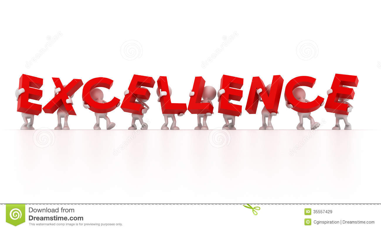 Striving For Excellence Clipart
