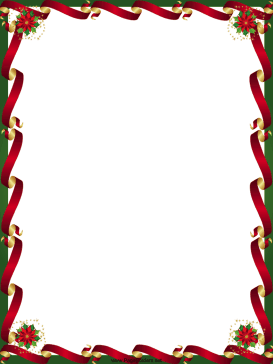 14 Christmas Borders For Microsoft Word Free Cliparts That You Can