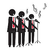 Choir   Clipart Graphic
