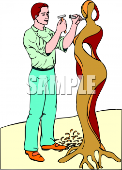 Find Clipart Sculptor Clipart Image 1 Of 8