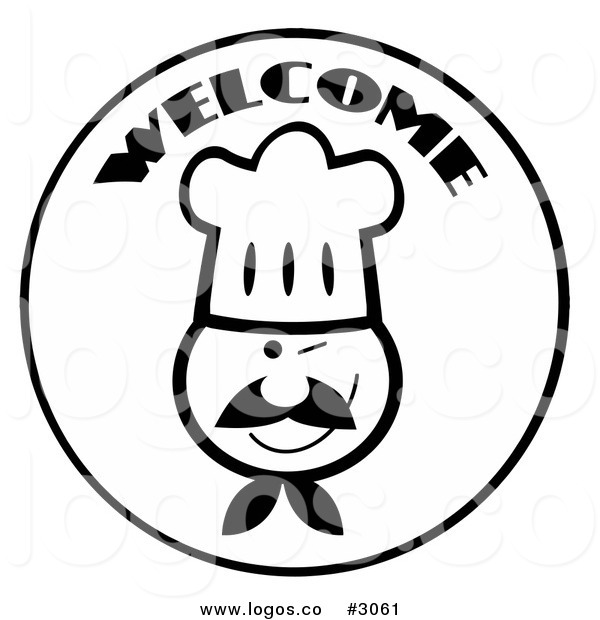 Free Chef Clip Art Black And White #dIO4CM - Clipart Kid
