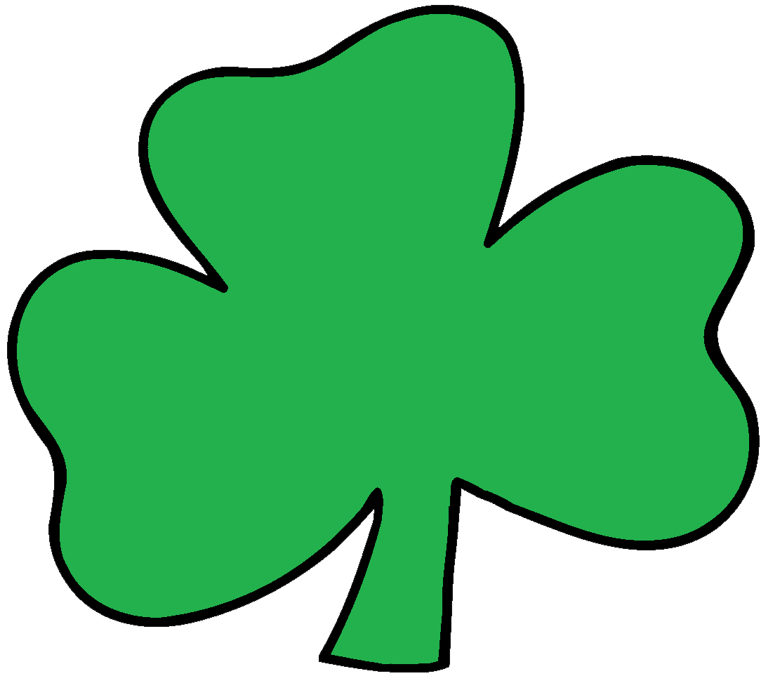 Clip Art Clipart Shamrock green shamrock border clipart kid graphics by ruth st patrick s day