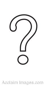 Question Mark Black And White Clipart - Clipart Suggest
