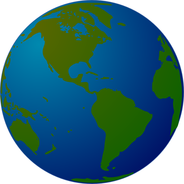 World Globe For Powerpoint Clipart Clipart Suggest