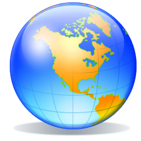World Globe For Powerpoint Clipart - Clipart Kid