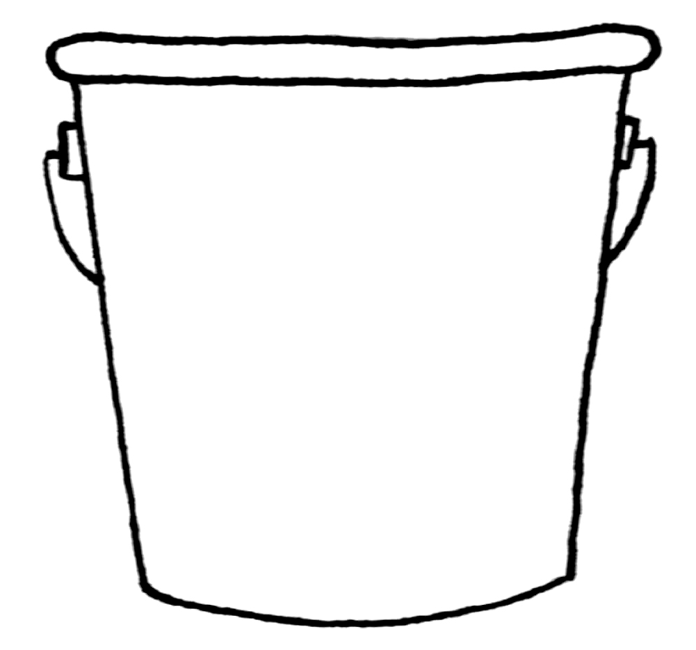 10 Bucket Template Free Cliparts That You Can Download To You Computer