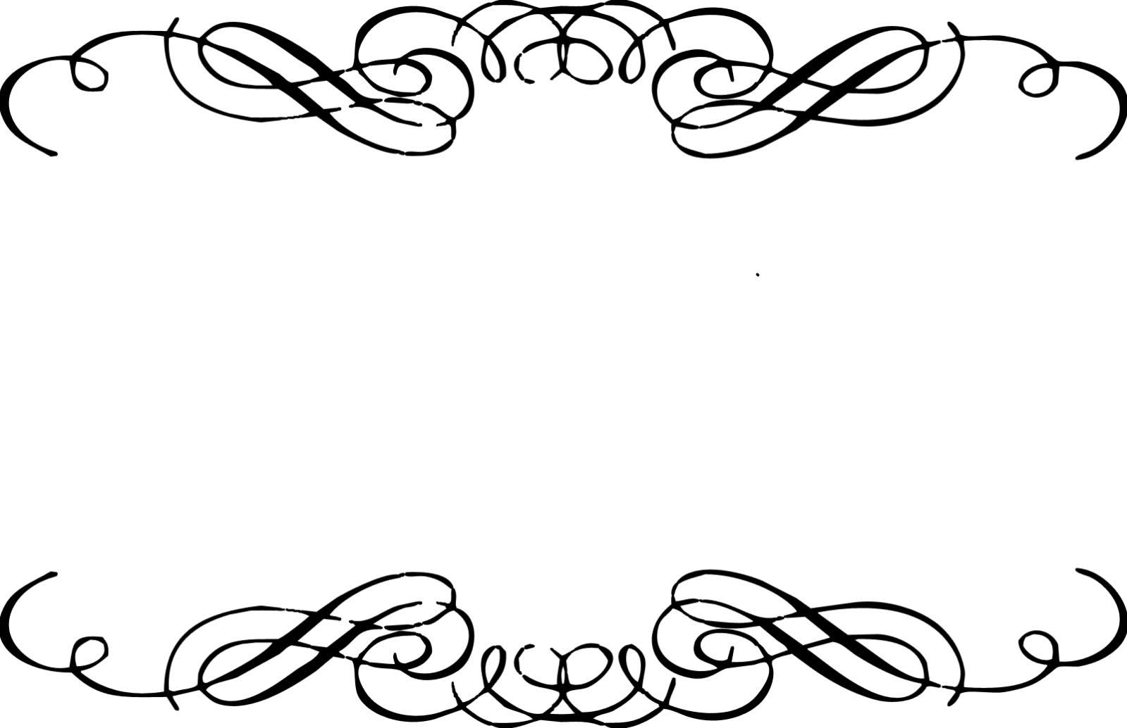 Line Art Design Free Download : Flourish line clipart suggest
