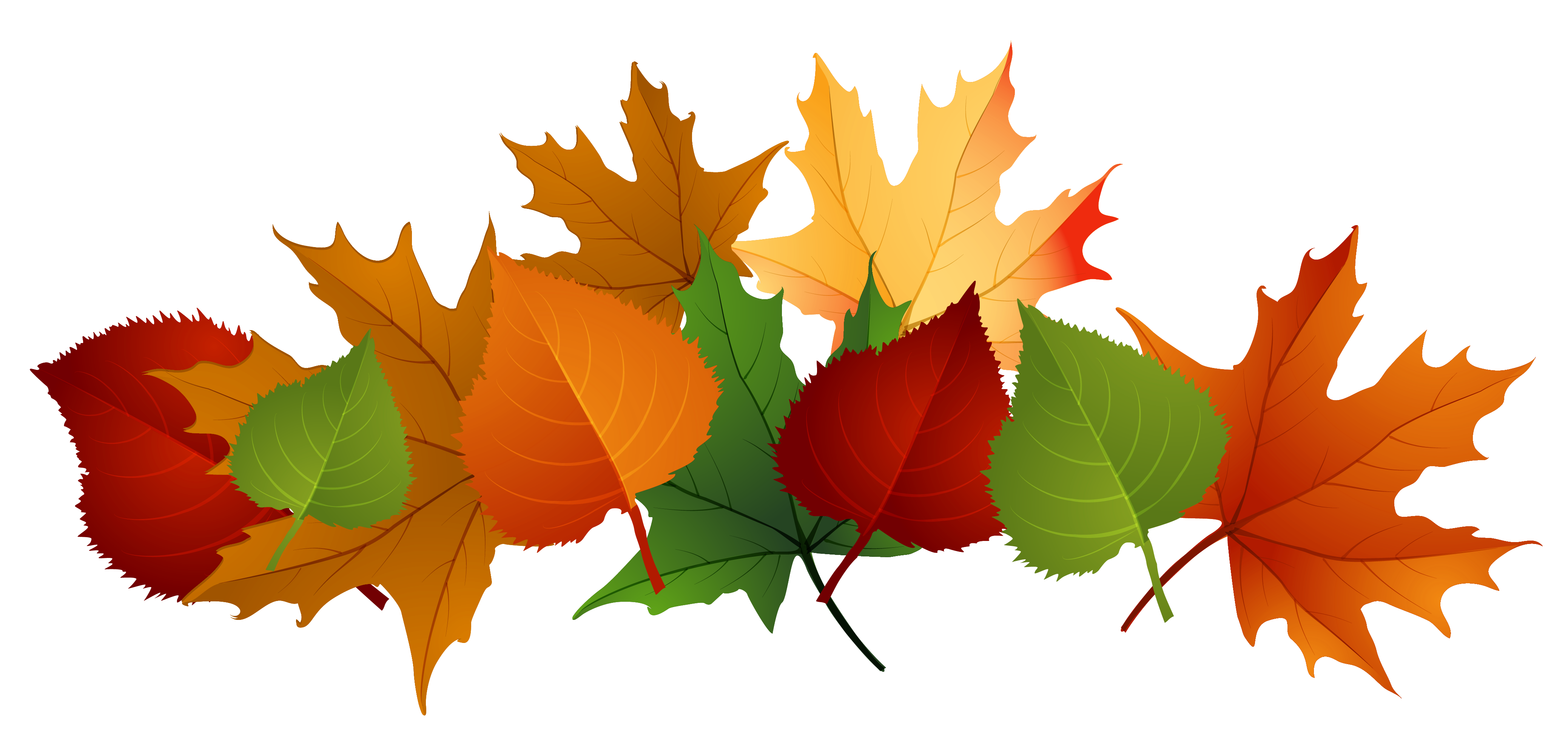 Autumn Leaves Pile Clip Art Fall Leaves Png Picture