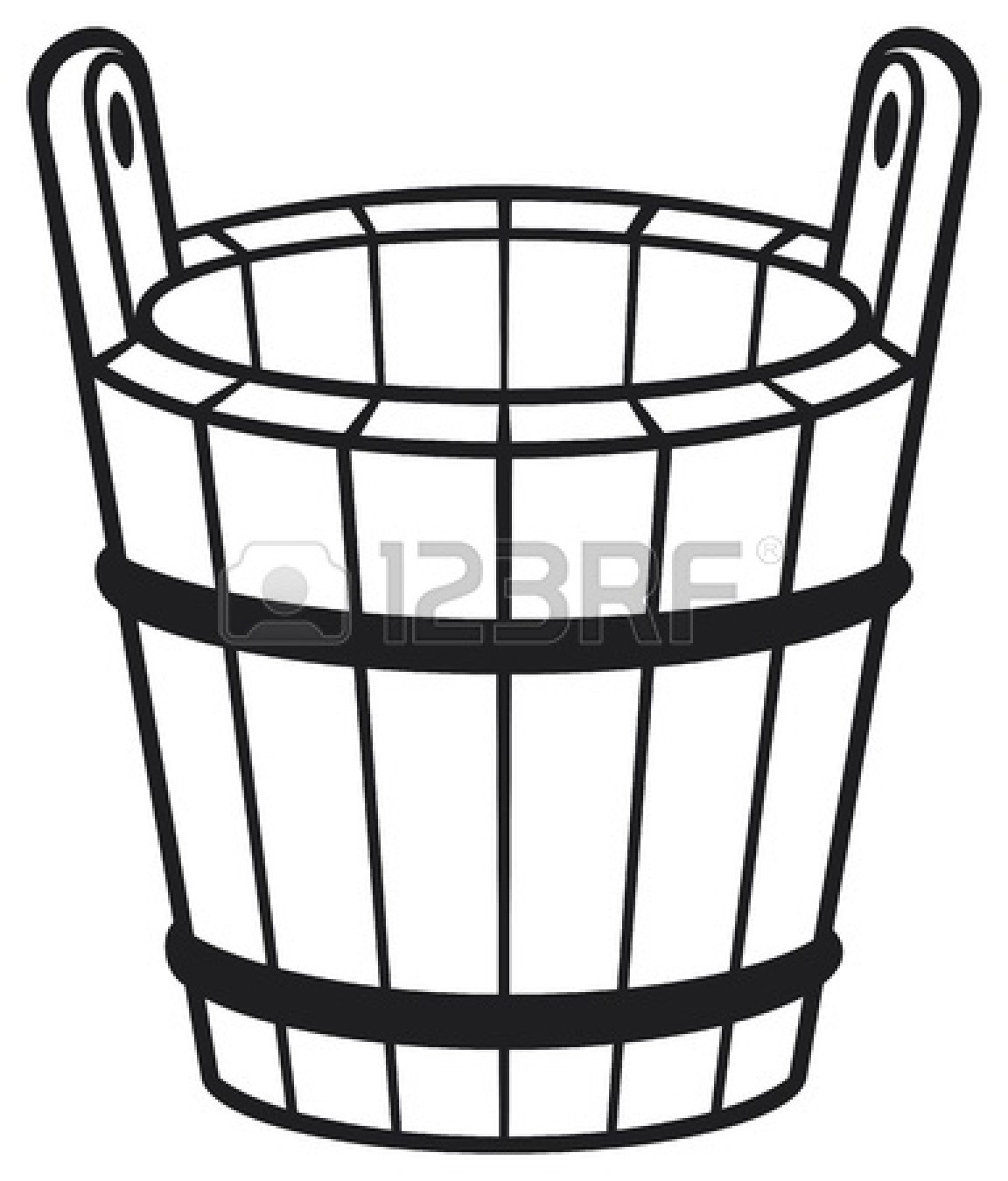 Bucket filler clipart clipart suggest for Bucket filler coloring page