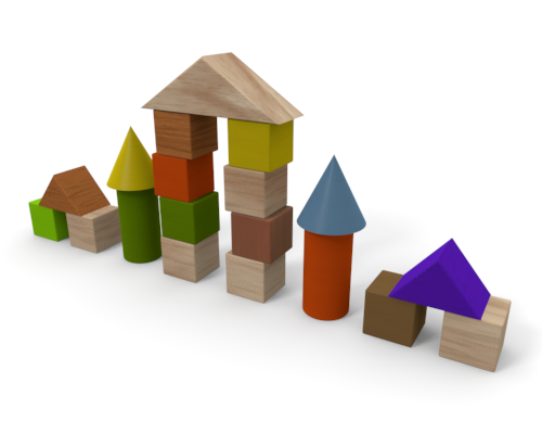 Building Block   Wooden Material   Free Illustration