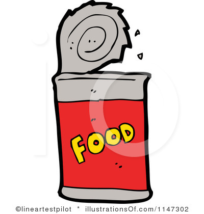 Canned Food Clipart Royalty Free Canned Food Clipart Illustration