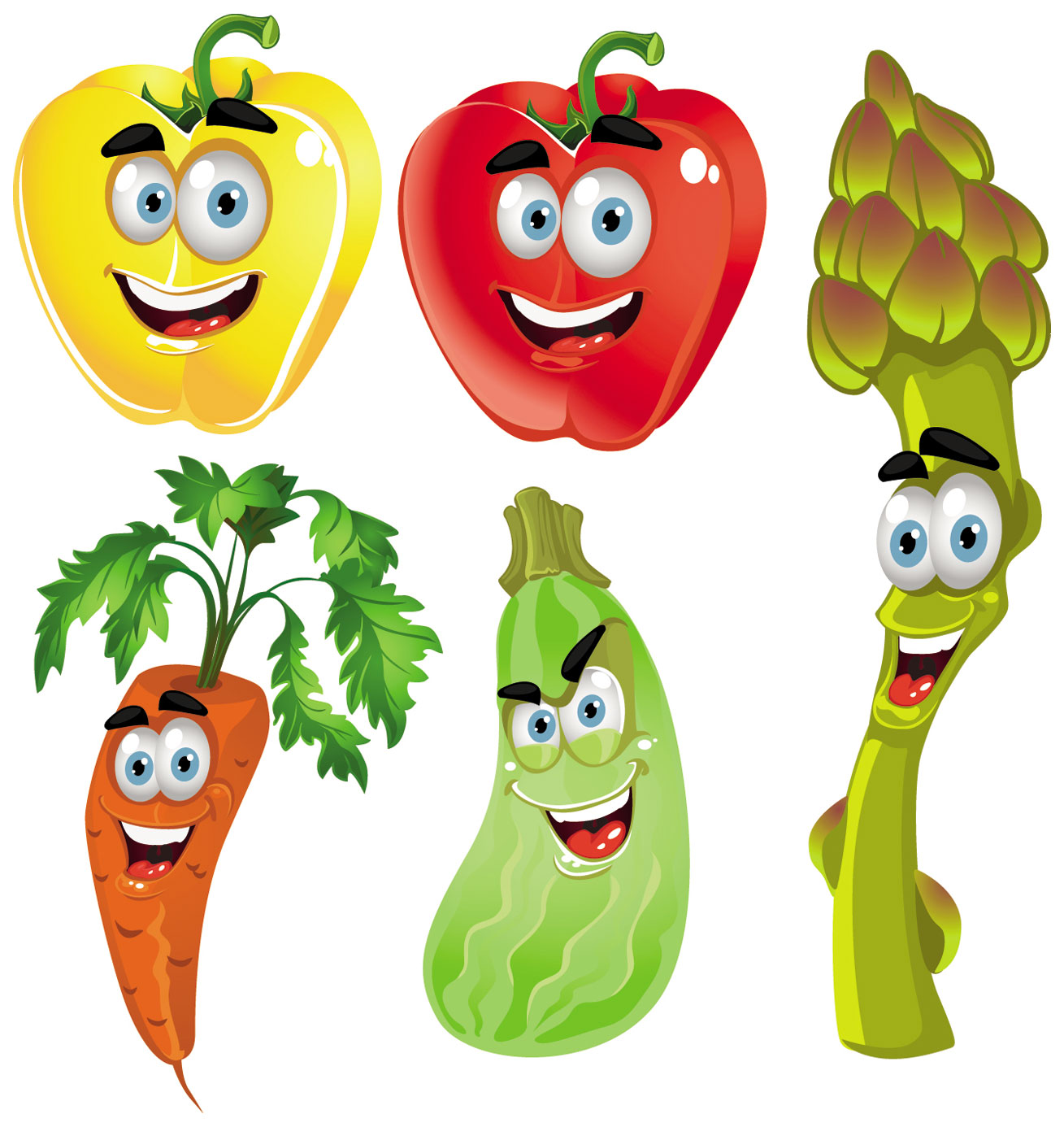 Cartoon Free Fruits Vegetables Tomato Veggies Vegetable Arts Drawings