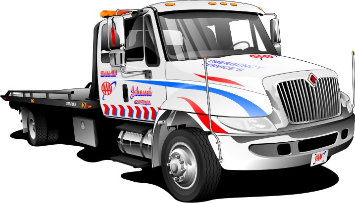 Tow Truck Towing Car Clipart - Clipart Kid
