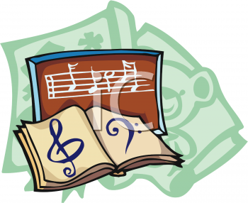 Clip Art  Book Of Music