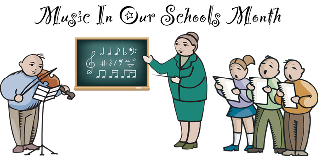 Clip Art For Music In Our Schools Month     Dixie Allan