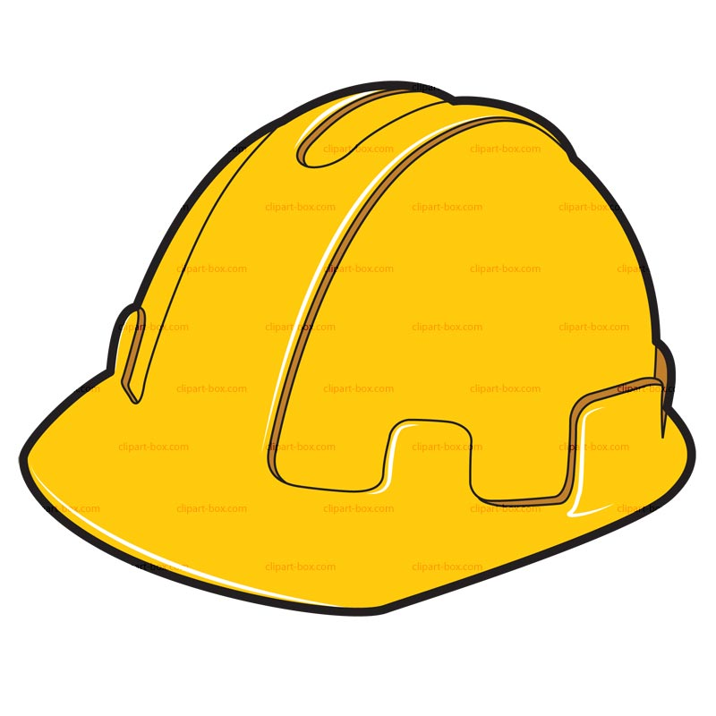 yellow hard hat clipart - photo #45