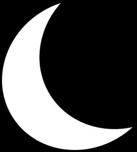 Clip Art Crescent Moon Clipart crescent moon clipart kid panda free images