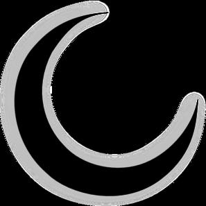Clip Art Crescent Moon Clipart crescent moon clipart kid best