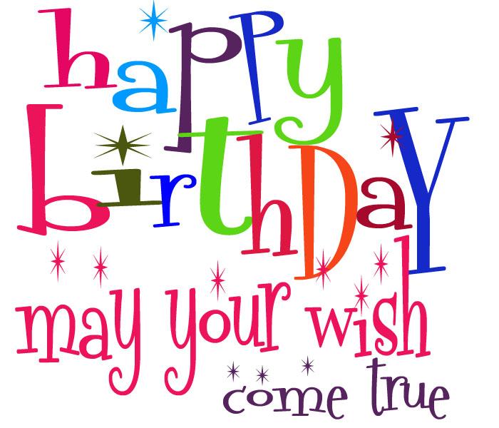 Happy Birthday Greetings Clipart Clipart Kid – Happy Birthday Greeting Text