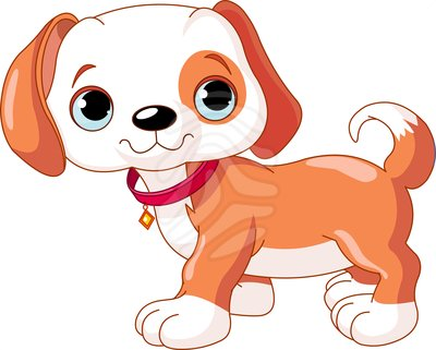 Cute Puppy Clipart   Item 2   Vector Magz   Free Download Vector