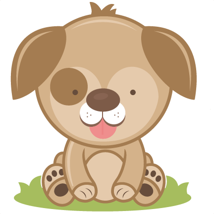 Clip Art Cute Puppy Clipart cute puppy clipart kid cutting file svg cut dog clipart