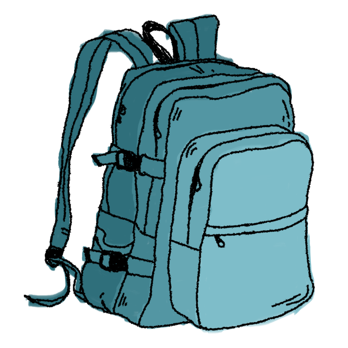 Hiking Backpack Clipart   Clipart Panda   Free Clipart Images