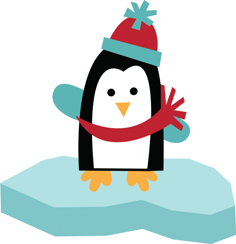 Cute Christmas Penguin Clipart - Clipart Kid