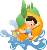 Inflatable Water Slide Clipart   Clipart Panda   Free Clipart Images