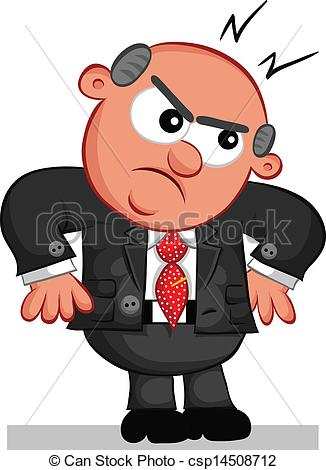 angry manager clipart - photo #44
