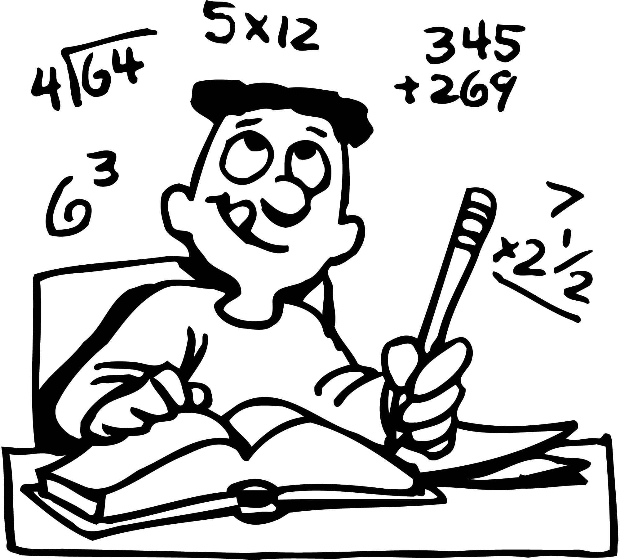 Mental Math Clipart - Clipart Kid