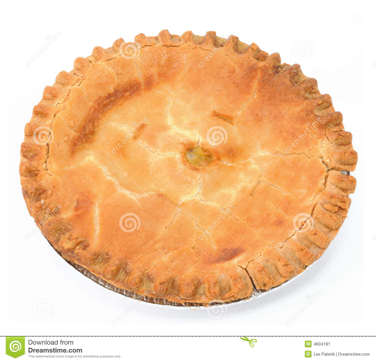 Peach Pie Stock Image   Image  4604181