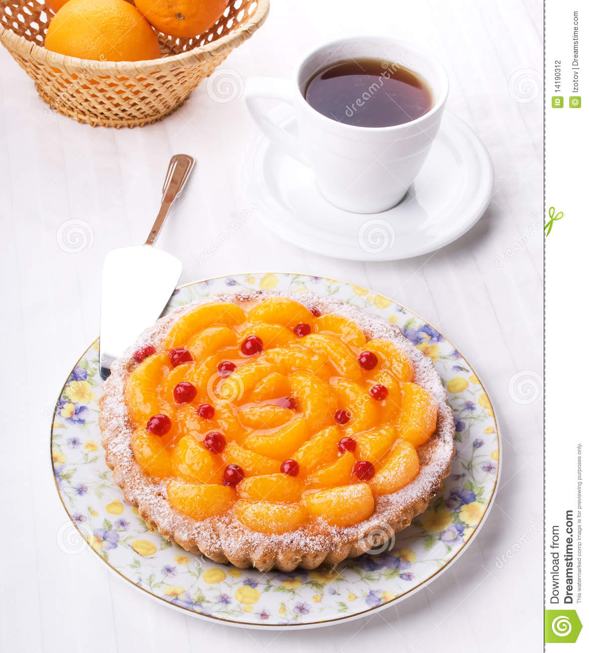 Peach Pie Stock Photography   Image  14190312