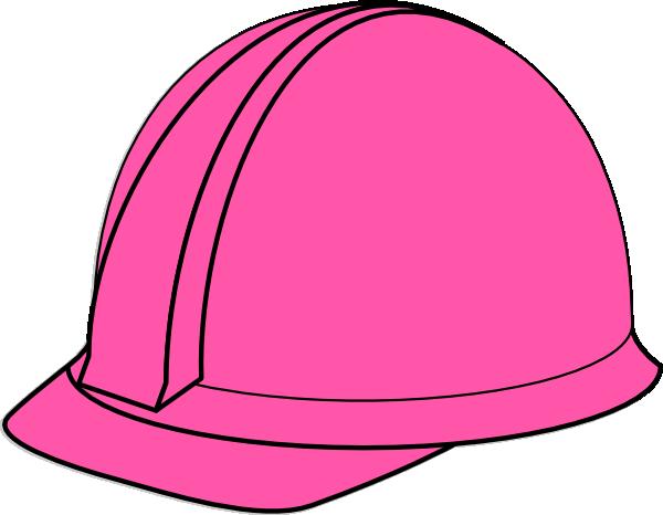 Clip Art Hard Hat Clipart hard hat clipart kid pink clip art at clker com vector online royalty
