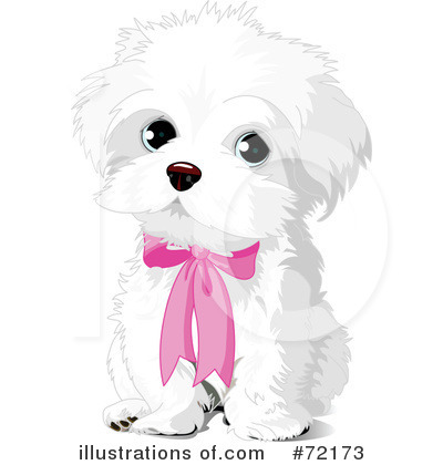 Puppy Clipart  72173 By Pushkin   Royalty Free  Rf  Stock