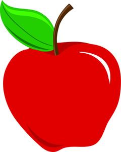 Clip Art Red Apple Clipart red apple clipart kid panda free images