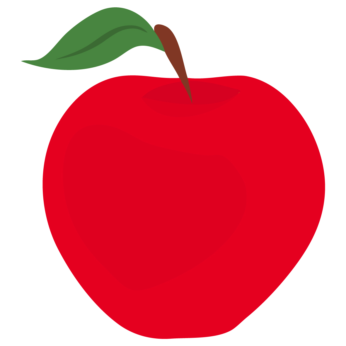 Red Apple Clipart - Clipart Kid