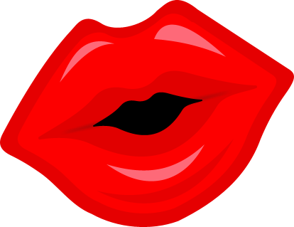 Cartoon Lips Clipart - Clipart Kid