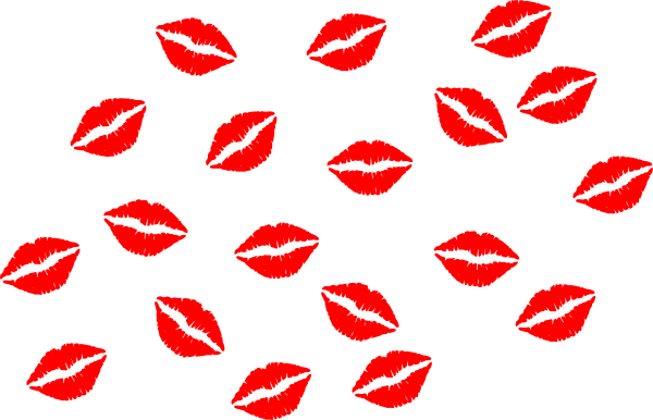 Red Lips Vector Clip Art At Clker Com   Vector Clip Art Online