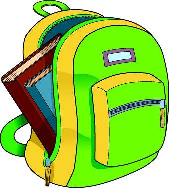 Clip Art Clipart Backpack backpack clipart kid school books classroom clipart