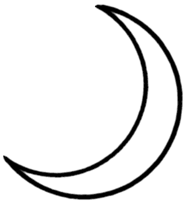 Clip Art Moon Clipart crescent moon clipart kid share with you friends