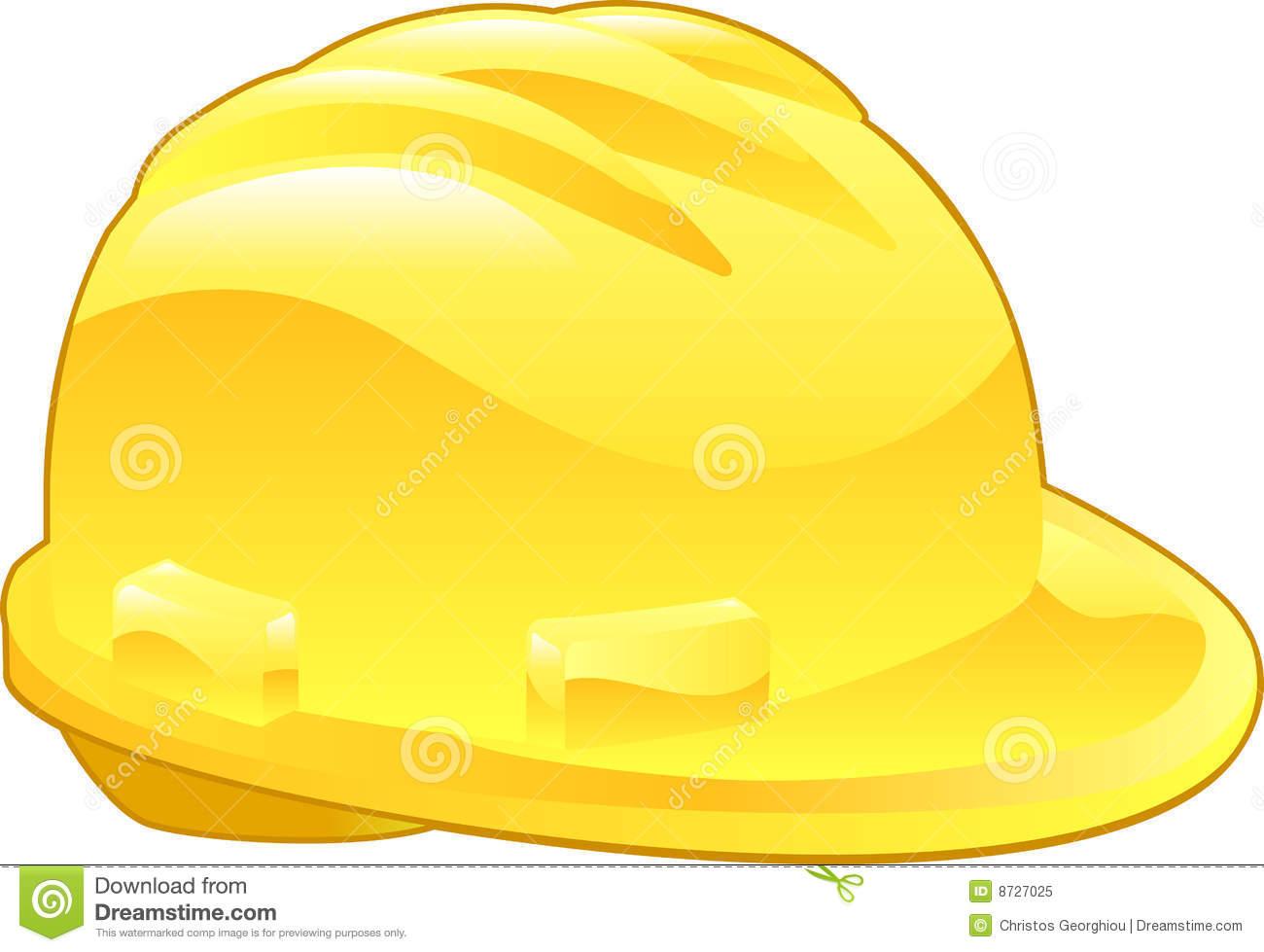 yellow hard hat clipart - photo #26
