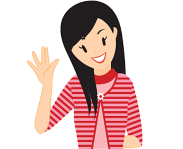Teen Girl Swear Icon   Free Images At Clker Com   Vector Clip Art