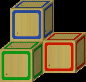 Clip Art Blocks Clip Art blank baby blocks clipart kid wooden clip art at clker com vector online