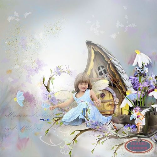 Beautiful Clipart With Flowers Fairies Shining Pics   Dreams Scrap